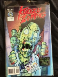 Signed Prelude or Attack of the Southern Fried Zombies Movie Comic!