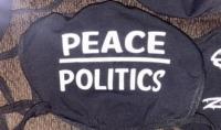 Peace over Politics Mask