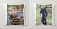 "Custom Throw Pillow 16""x16"""